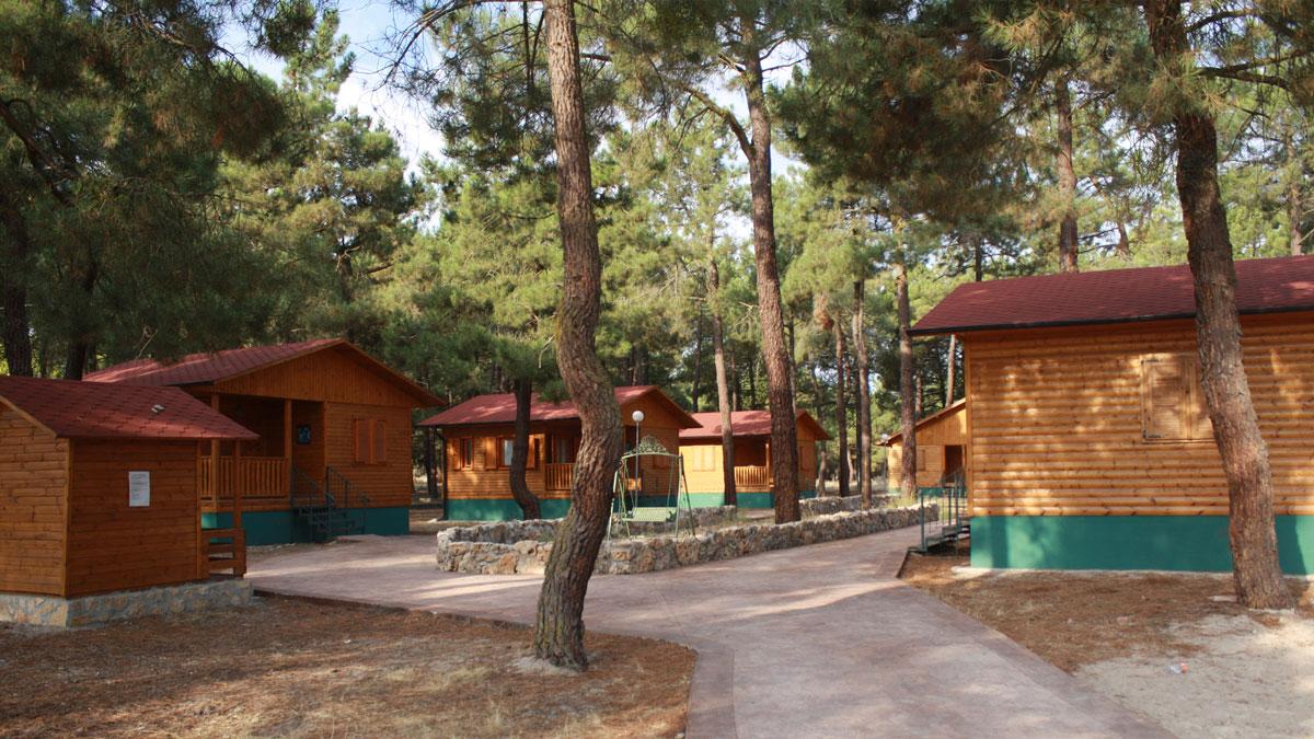 Cabaña Modelo Habitación